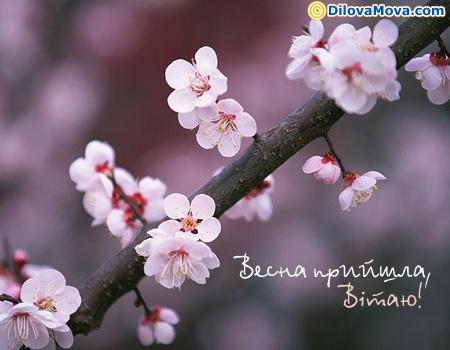 Весна прийшла - Початок весни :: Листівки до свят і святкових подій