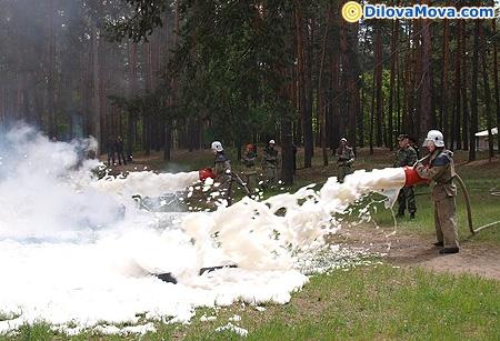 Навчання пожежників