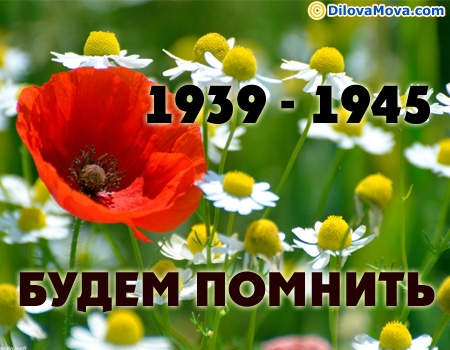 Будемо пам'ятати