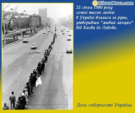 Як починався День Соборності України