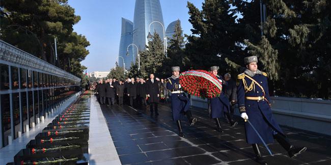 Подія 20 січня - День жалоби в Азербайджані