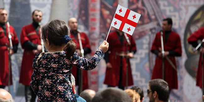 26 травня 1918 року уряд Грузії на чолі з Ное Жорданія проголосил незалежність країни