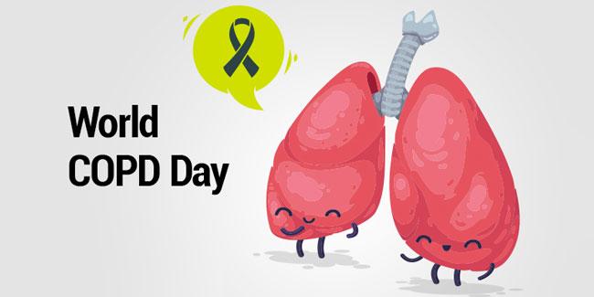 День боротьби проти хронічного обструктивного захворювання легень