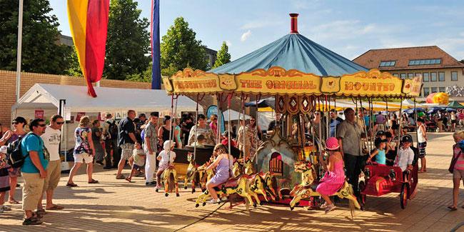 В Національний день в Вадуці проходить грандіозне святкування