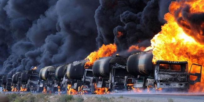 Війна також веде до руйнування навколишнього середовища
