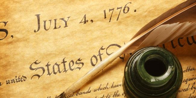 Декларацію незалежності підписали 56 представників з 13 колоній