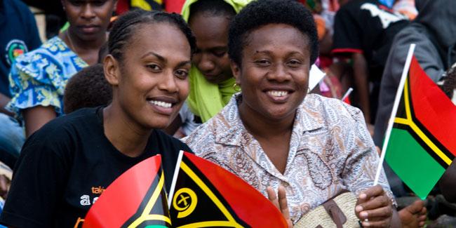 Державне свято в Республіці Вануату відзначається 30 липня